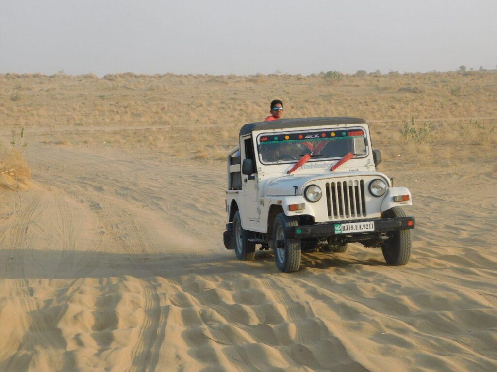 Jeep Safari at Jaisalmer