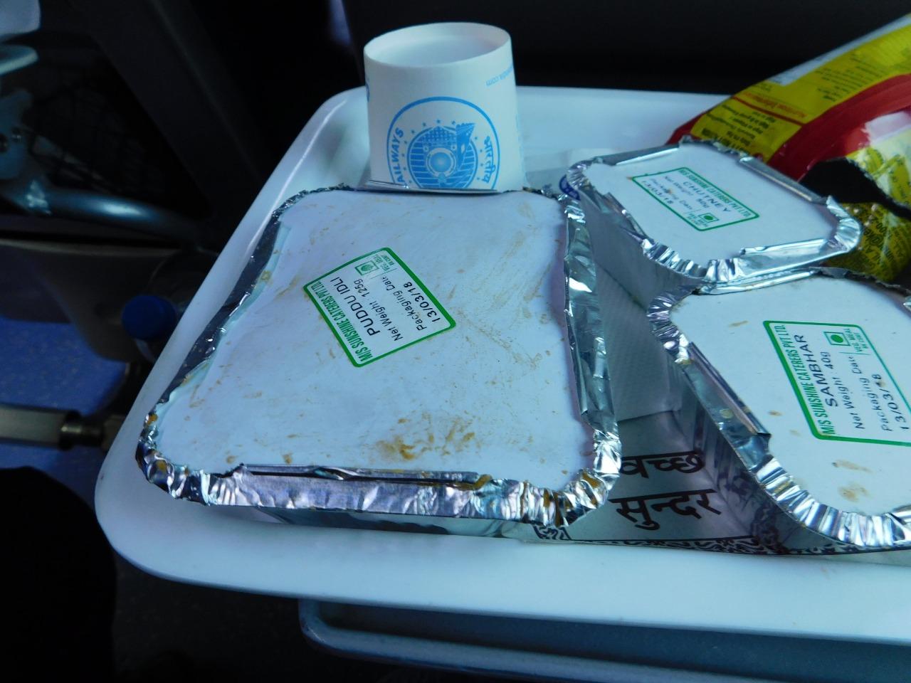 Tejas Express Food